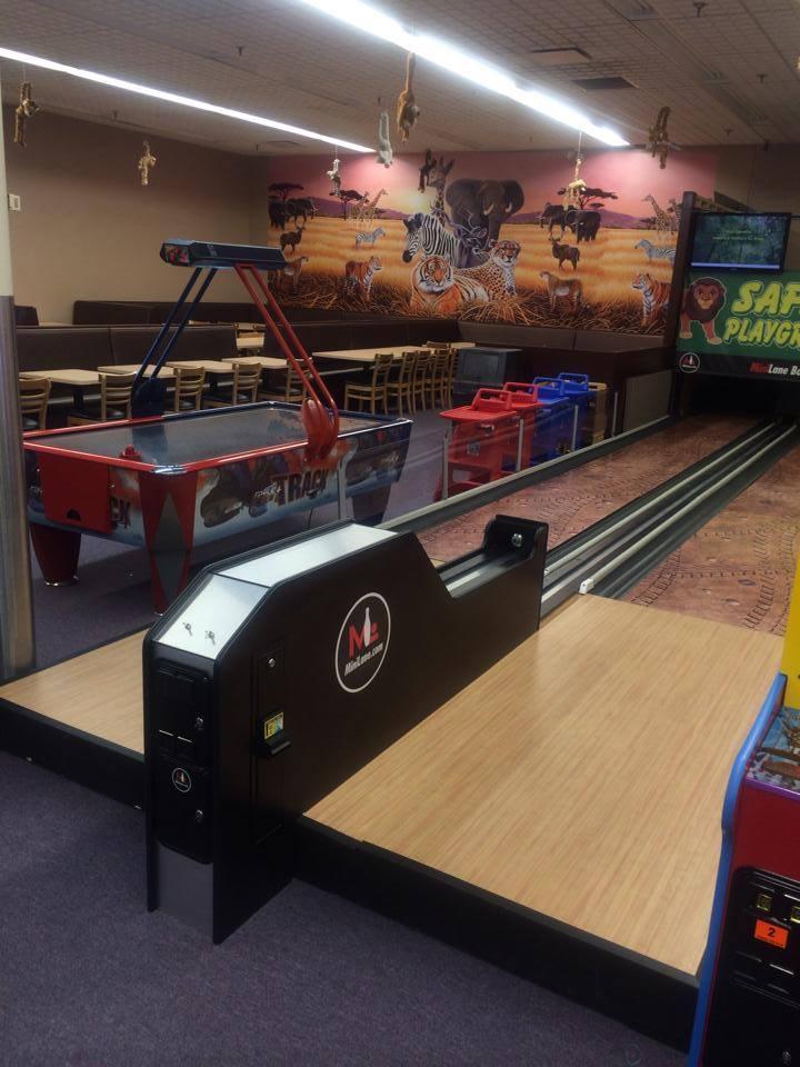 Mini-Bowling-Alley – Safari Playground – Michigan's Premier